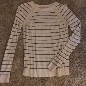 Striped sweater from the Loft